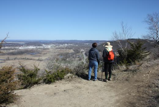 Hiking the La Crosse Blufflands North