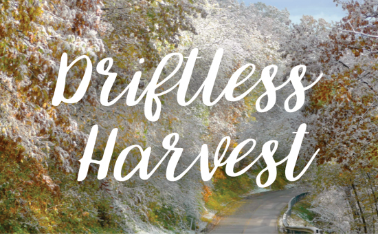 Driftless Harvest title graphic