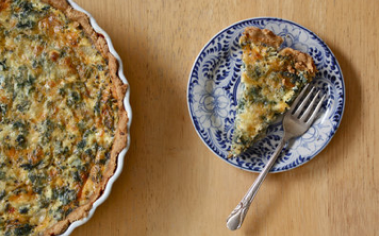 Nettle tart photo